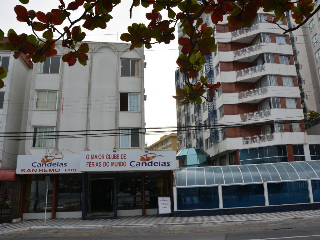 Fachada CANDEIAS HOTEL SAN REMO